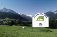 Valla para identificar una granja Ato